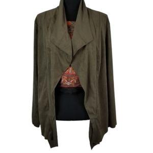 Catherine 2x Catherine Malandrino olive jacket